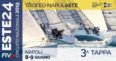 Coppa NapulEste – III TAPPA CIRCUITO NAZIONALE CLASSE ESTE 24 NAPOLI 8 E 9 GIUGNO 2019