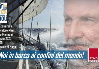 """""""E guardo il mondo da un oblò"""": Imprese leggendarie in barca a vela, Best Explorer si racconta alla LNI Napoli."""